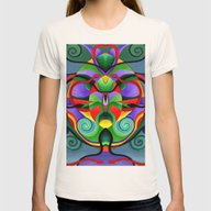 T-shirt featuring Mandala 9704 by Rafael Salazar
