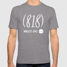 Valley Girl Mens Fitted Tee Tri-Grey SMALL