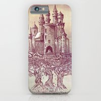 trees iPhone & iPod Cases featuring Castle in the Trees by Rachel Caldwell