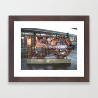 Underground II Framed Art Print