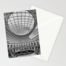 The Corn Exchange Interior In Monochrome Stationery Cards