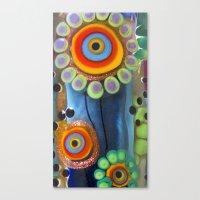 Hippie Flowers  Canvas Print