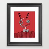 Mister Friend Framed Art Print