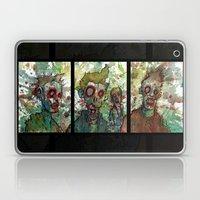 zombie triptych Laptop & iPad Skin