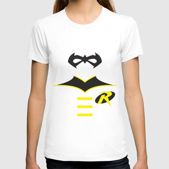Robin the boy wonder t shirt by adrian mentus society6 for Wonder boy t shirt