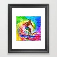 Surf Style Framed Art Print