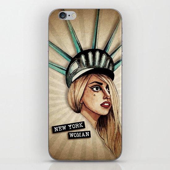 New York Woman iPhone & iPod Skin