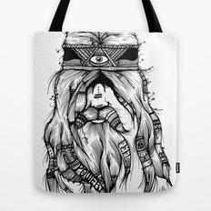 Feel, Peace, Love & Power Tote Bag
