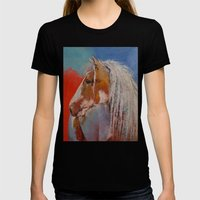 Gypsy Vanner Womens Fitted Tee Black SMALL