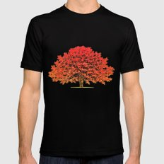 Japanese Maple 1 SMALL Mens Fitted Tee Black
