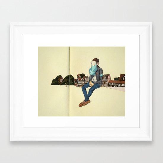 Colossal Death Framed Art Print