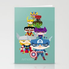 Avengers 2 Fan Art Stationery Cards