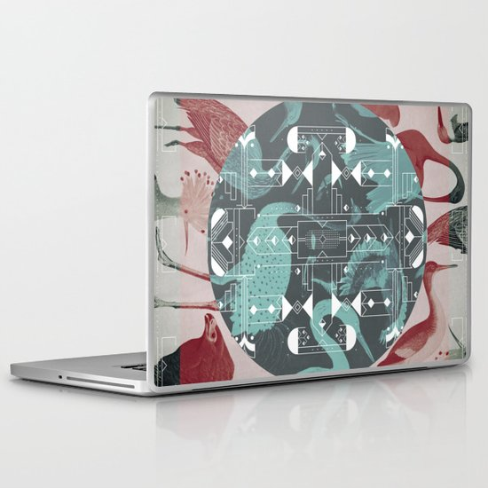 Eumaniraptora Laptop & iPad Skin