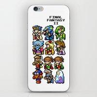 Final Fantasy II Charact… iPhone & iPod Skin