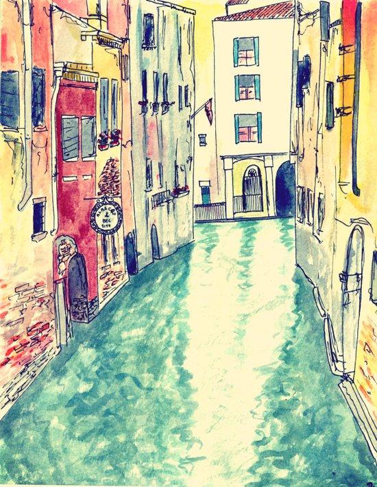 Venezia III Art Print