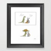 For Louie Framed Art Print