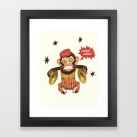Magic Monkey Framed Art Print