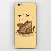 The Scarecrow Shark iPhone & iPod Skin