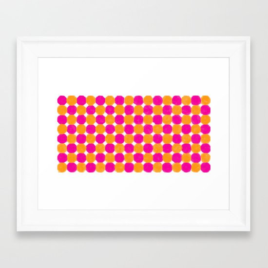 Talk Framed Art Print
