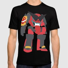 Gurren Mens Fitted Tee Black SMALL