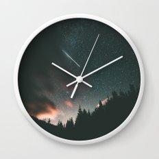 Stars II Wall Clock