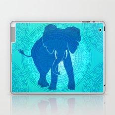 Turquoise Elephant  Laptop & iPad Skin