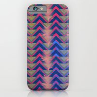 Chevron and  Geometric with pink iPhone 6 Slim Case