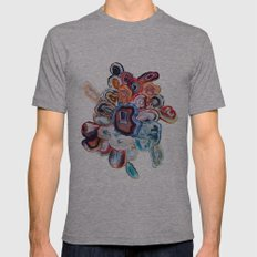 Earth's Loveliness, Agat… Mens Fitted Tee Athletic Grey SMALL