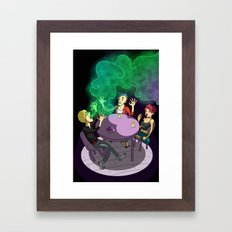 The Seance Framed Art Print