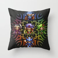 FF4 To The Center Of The… Throw Pillow