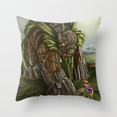 Earth Spirit Throw Pillow