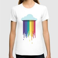 What Clouds Are Made Of Womens Fitted Tee White SMALL