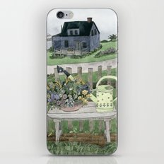 Cottage at the Sea iPhone & iPod Skin