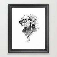 YO DMC Framed Art Print