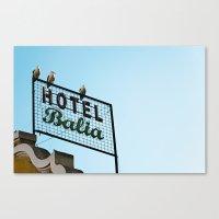 Hotel Canvas Print
