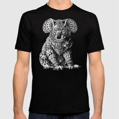 Koala Mens Fitted Tee Black SMALL