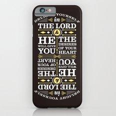 Psalm 37:4 iPhone 6s Slim Case