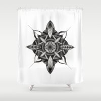 FLWR3 Shower Curtain