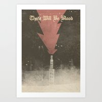 There will be blood - Alternative Movie Poster Art Print