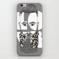 love is beard iPhone & iPod Skin