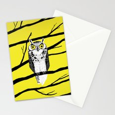 Great Owl Stationery Cards