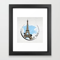 de Paris Framed Art Print