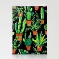 Stationery Cards featuring Cacti by Sian Keegan