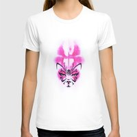 Kabuki Kreature Womens Fitted Tee White SMALL