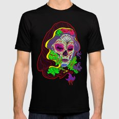 Darlin' Of The Dead Black SMALL Mens Fitted Tee