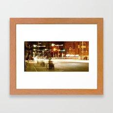 light protest Framed Art Print