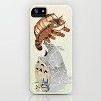iPhone 5s & iPhone 5 Cases featuring tonari no totoro by Manoou