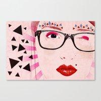 Pollyanna Canvas Print