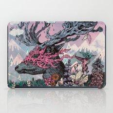 Journeying Spirit (deer) sunset iPad Case
