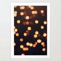 Christmas Lights II Art Print